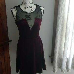 Classy velvet dress